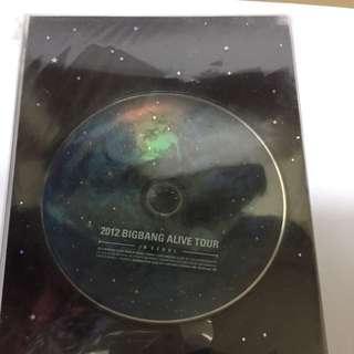 2012 Bigbang Alive Tour In Seoul Concert DVD