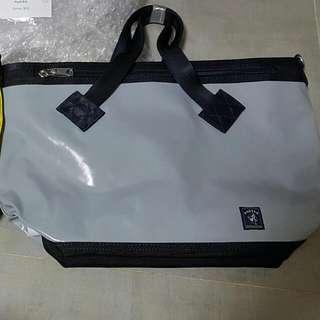 BN Porter International LEAD Tote Bag - Grey