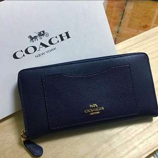 Coach wallet (navy blue)