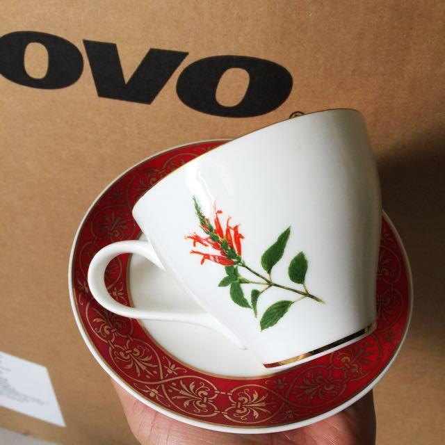 中國風咖啡對杯