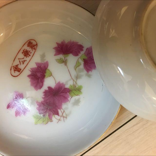 民國早期的碗盤