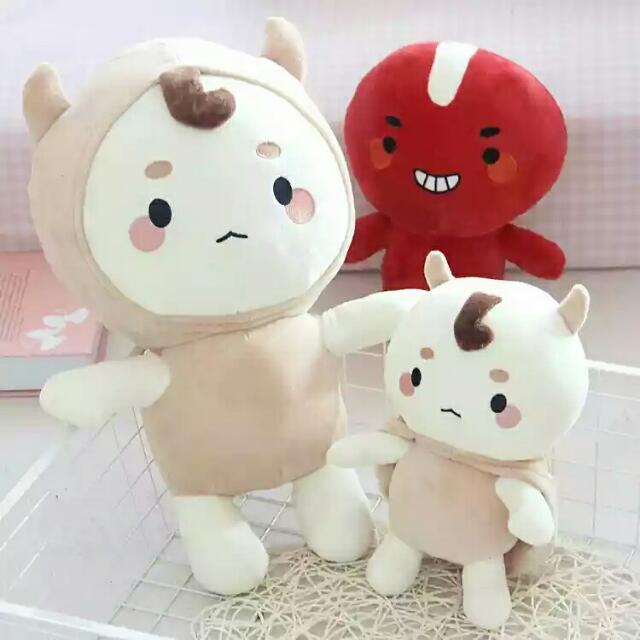 韓劇孤單又燦爛的神-鬼怪孔侑金高銀同款蕎麥君公仔布娃娃玩偶