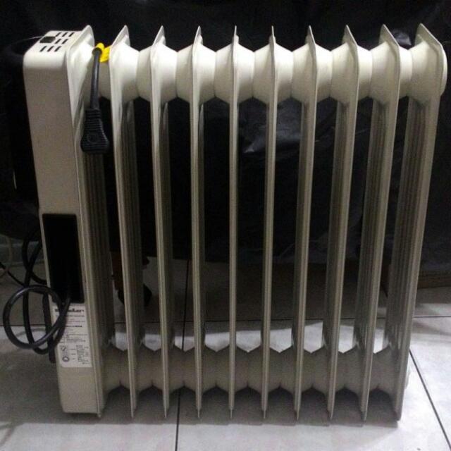 功能正常 德國 嘉儀HELLER KE10TF 十葉片式 恆溫 定時 暖風加速設計 電暖爐 電暖器 歡迎新竹市面交