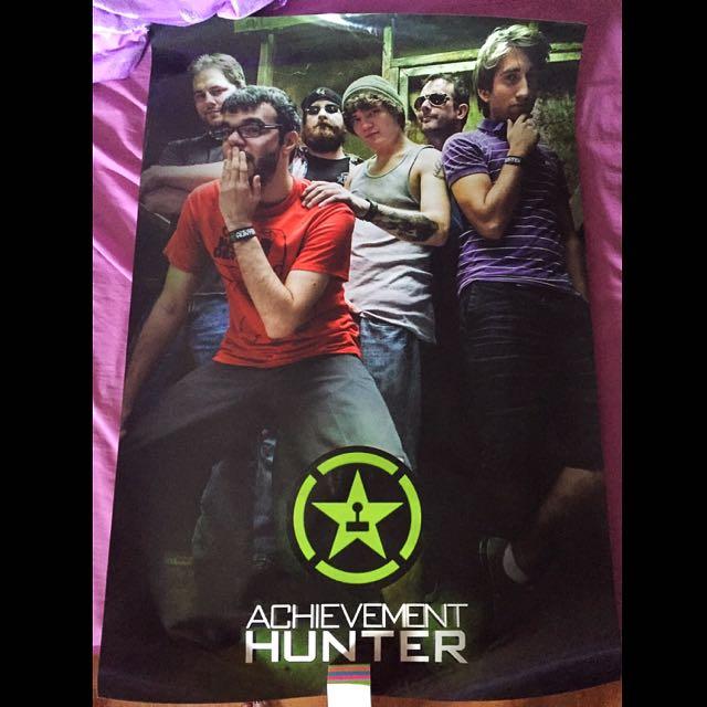 Achievement Hunter Boy Band Poster