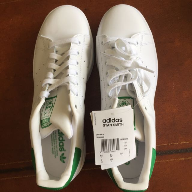 Impresionante Descarte Verde  Adidas Stan smith US Size 9, Men's Fashion, Footwear on Carousell