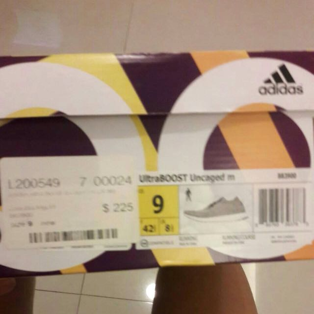 Adidas ultraboost uncaged  Size US 9 / EUR