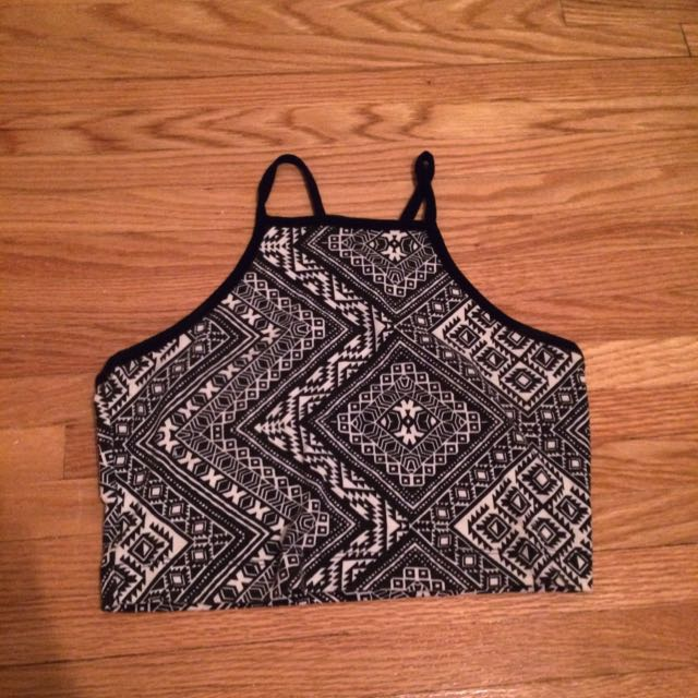 Aeropostale Printed Crop Top