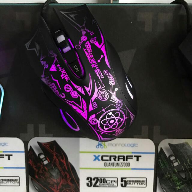 Alcatroz X-Craft Gaming Mouse(wit 1 year warranty), Electronics, Computer