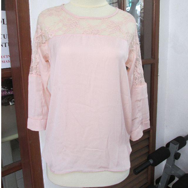 Bershka lace blouse