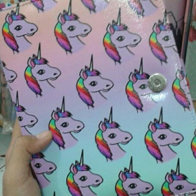 BINDER 20 RING UNICORN