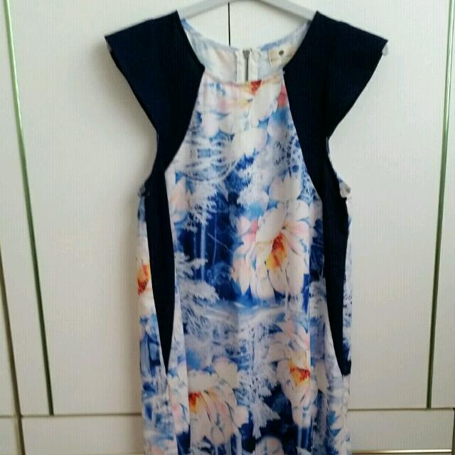 Blue Dress Size 8. Blue Mist Brand.
