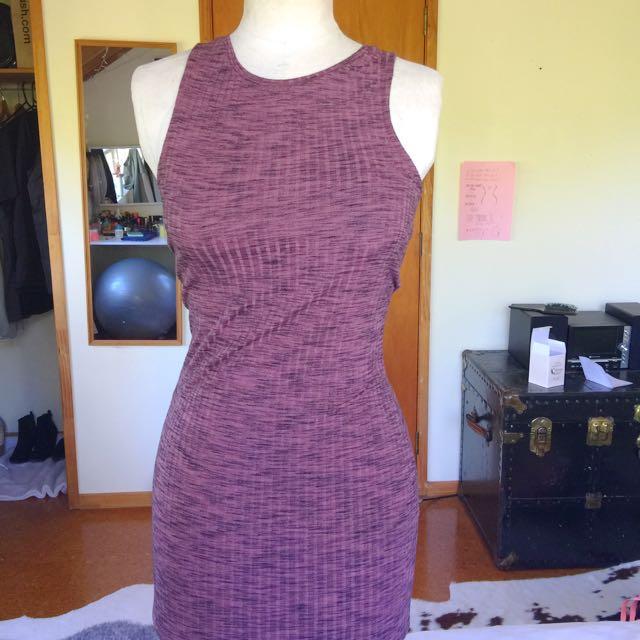 BodyCon Burgundy Long Dress 💕