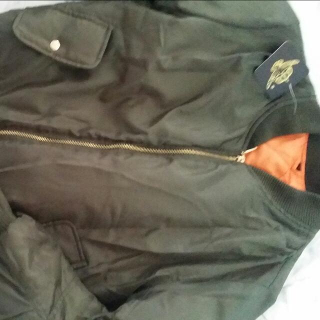 Boohoo Khaki Jacket