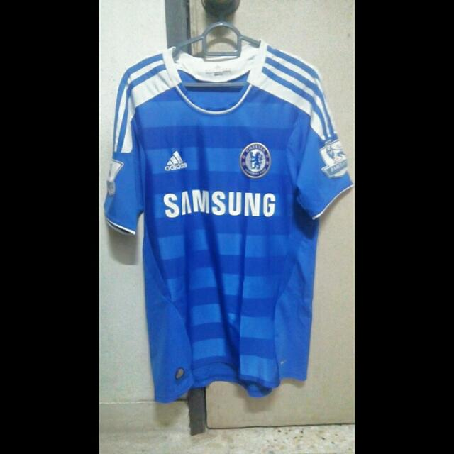 best website 542a0 1a977 Chelsea 2011-2012 Home Jersey ( Fernando Torres )
