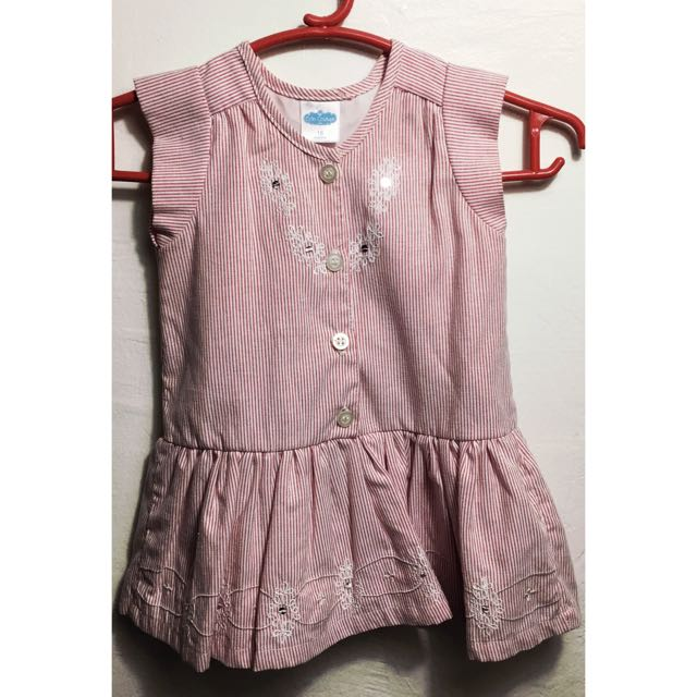 📌REPRICED: Crib Couture Cute Baby Dress