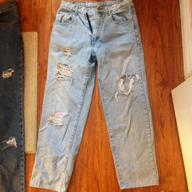 Customized Sedona Ripped Boyfriend Jeans