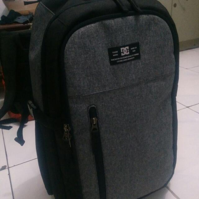 Dc Shoes Bag Grey Koper