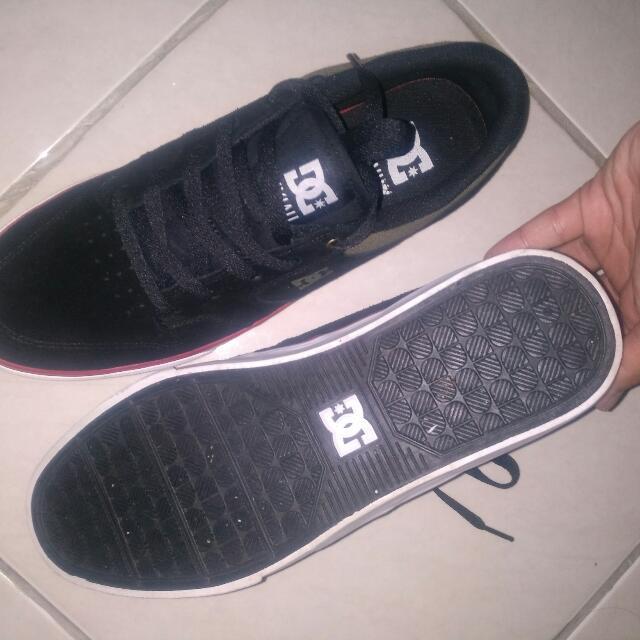 Dc Shoes Nyjah Vulc Black Red Ori Obral Santai
