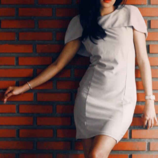 Dress, Grey