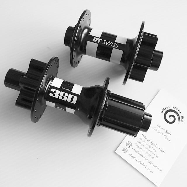DT Swiss 350 Hub Set, Bicycles & PMDs, Bicycles, Mountain