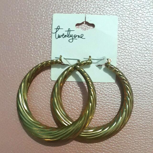 Earrings Hoop F21