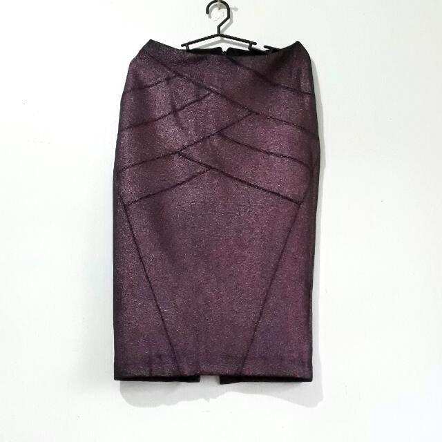 Express Crop Top and High Waist Skirt