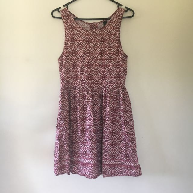 Factorie Patterned Dress