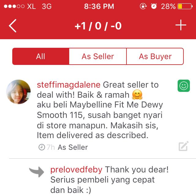 Comment as a buyer 😎