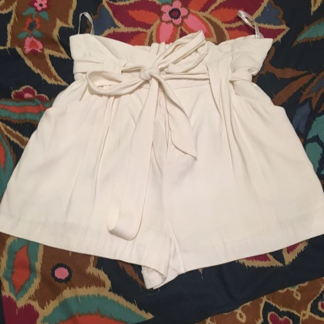 Forever New White Shorts
