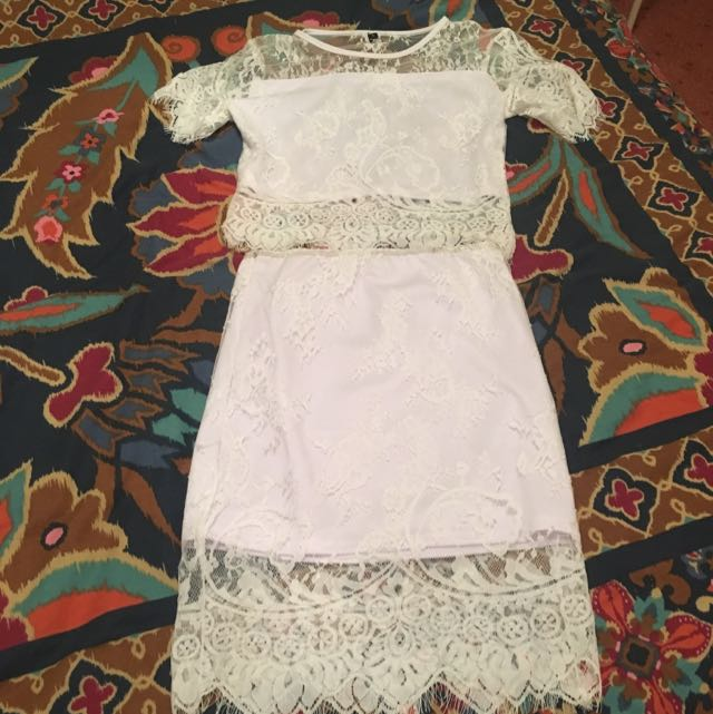 French Dot Two Piece