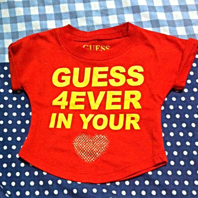 Baby Guess Croptop Blouse
