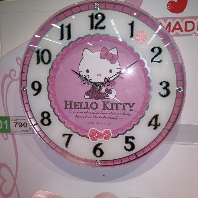 Hello Kitty掛鐘