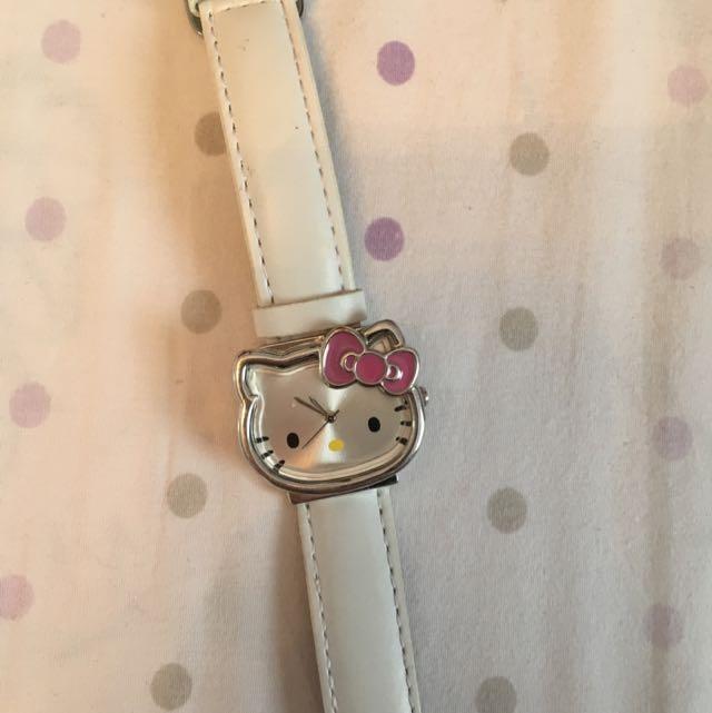 Hello Kitty White Sanrio Watch