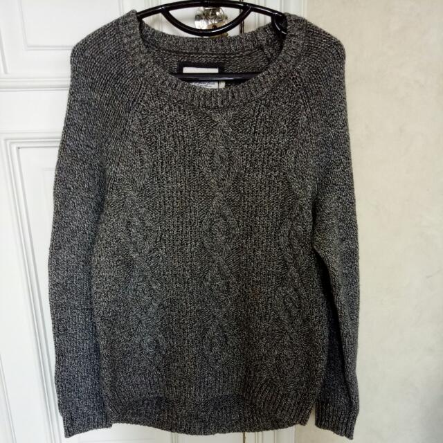 H&M Grey Sweater Size S
