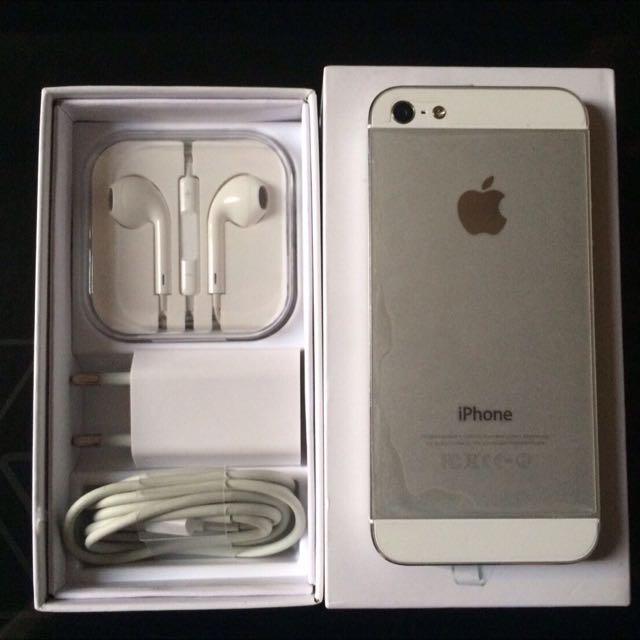 IPhone 5G 16gb White
