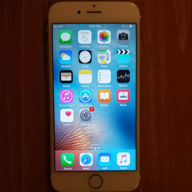 iPhone 6S Gold 16 GB UNLOCKED