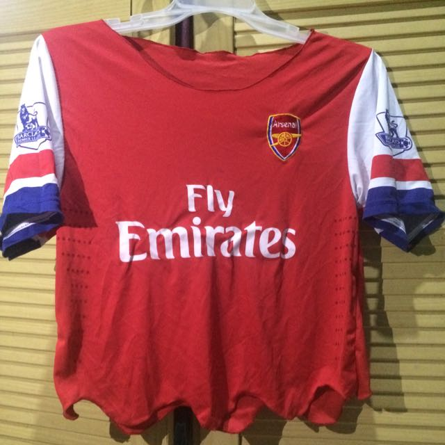 Jersey Arsenal Crop