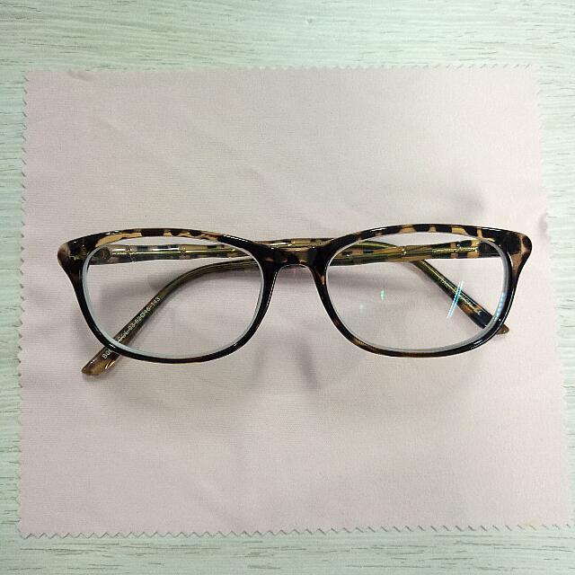 Kacamata Semicateyes Simply : Leopard