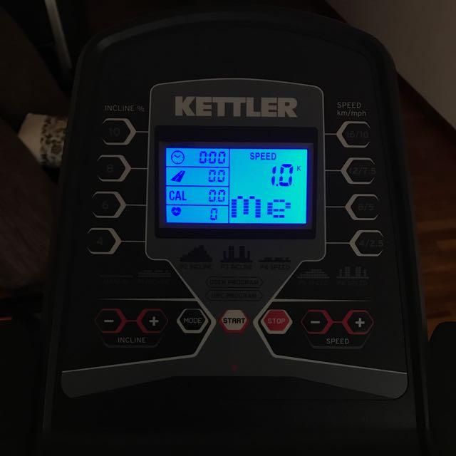 Kettler Pacer Treadmill