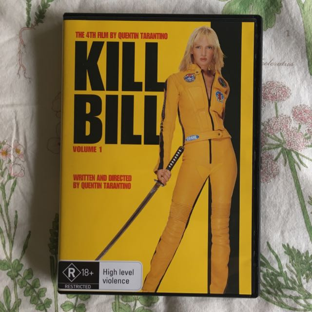 Kill Bill Vol. 1 DVD