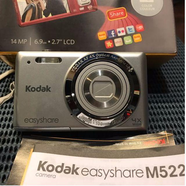 Kodak Easyshare M522 like new fullset !