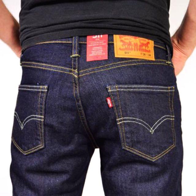 (全新、二手價)LEVIS 511 - 原色 深藍 牛仔褲