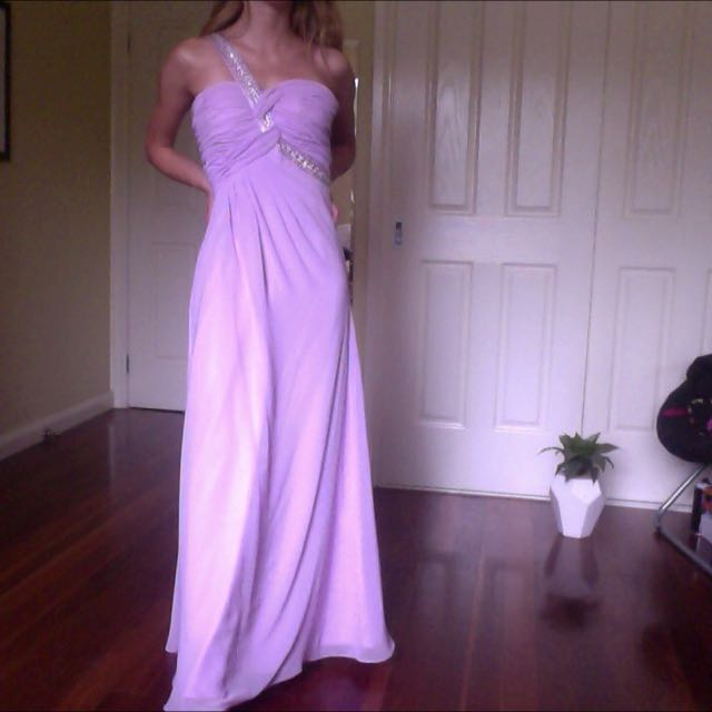 Lilac Formal Gown/prom Dress