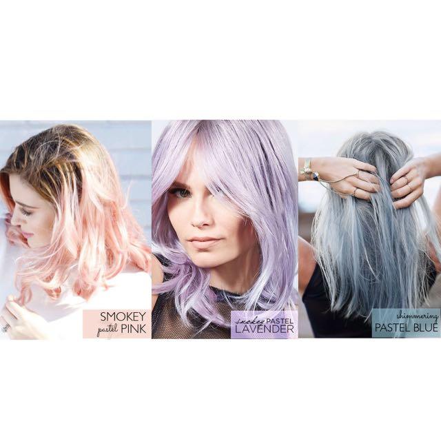 Pastel Hair Colour Loreal Paris Feria Smokey Health Beauty Care On Carou
