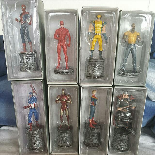 Marvel Chess Piece Collectibles