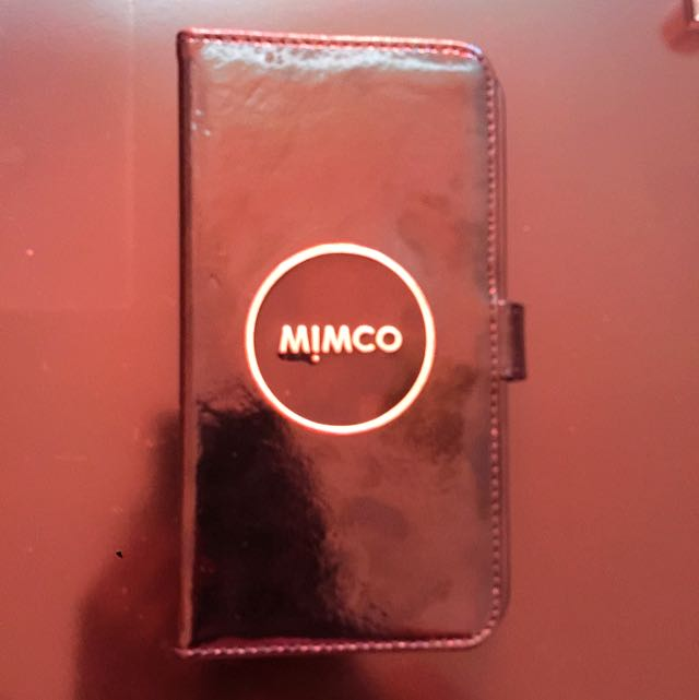 MIMCO iPhone 6 Case Rose Gold And Black