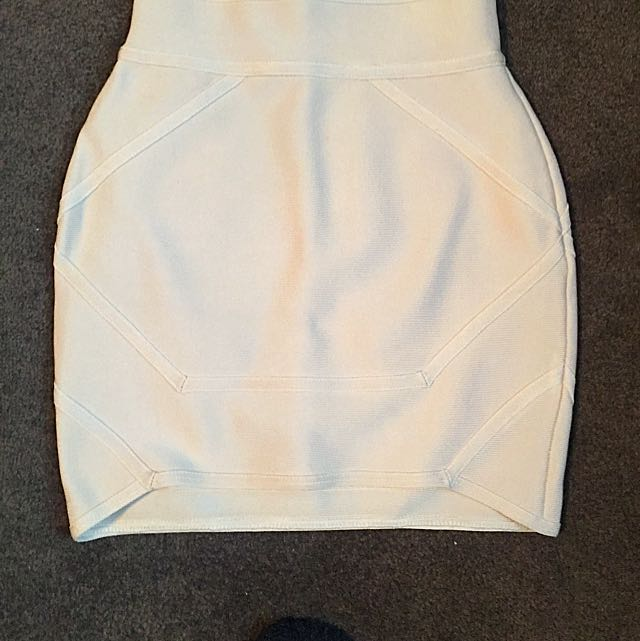 Mistress Rocks Cream Skirt
