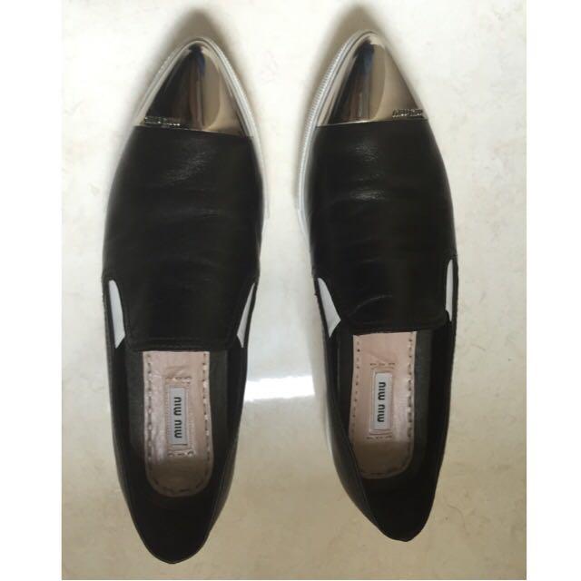 Miu Miu cap toe Sneakers Size 40