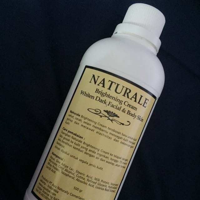 Naturale Brightening Cream Whiten Dark Facial & Body Cream