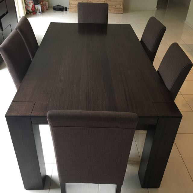 Nick Scali Dining Table And 6 Chairs Home Furniture On